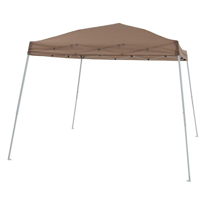 TrueShade Plus 8' x 8' Instant Pop Up Folding Canopy Shade with Roller Bag