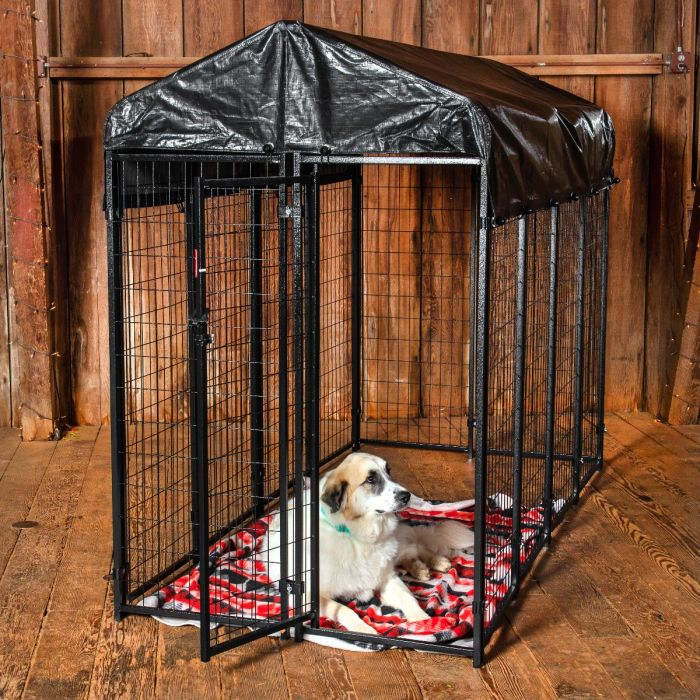 Lucky Dog® Uptown 8' x 4' Kennel