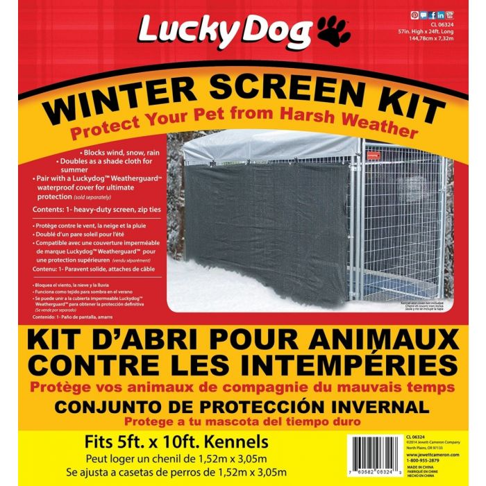 Weatherguard™ Winter/Shade Screen Cloth with Grommets