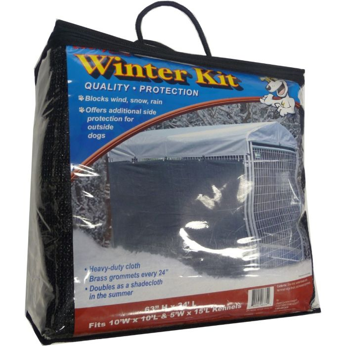 "Weatherguard™ Extra Large Winter/Shade Screen Cloth with Grommets - 57""H x 34'L"