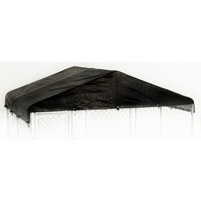 10'W x 10'L Replacement Kennel Cover (Black)