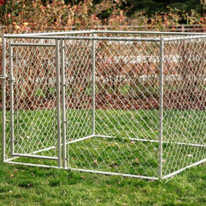 5' x 5' Chain Link Kennel DIY Kit | Lucky Dog