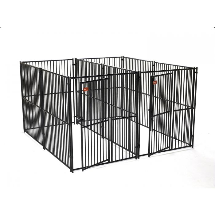 Lucky Dog® Euro Style 2-Run Kennel