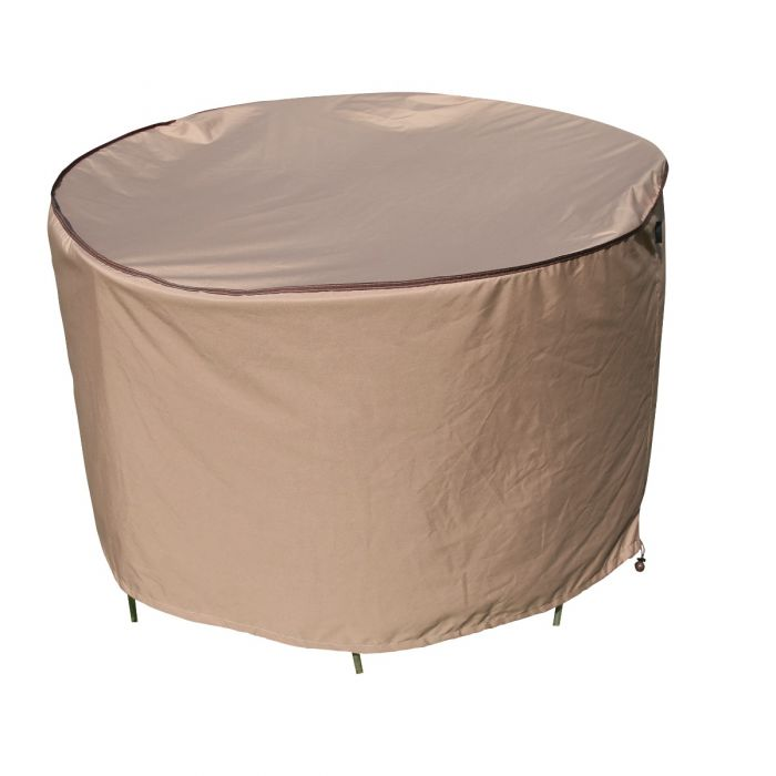 TrueShade Plus Round Table and Chair Set Cover
