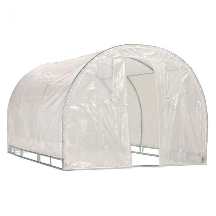 Weatherguard™ Round Top Greenhouse or Cover Set 6' x 12'