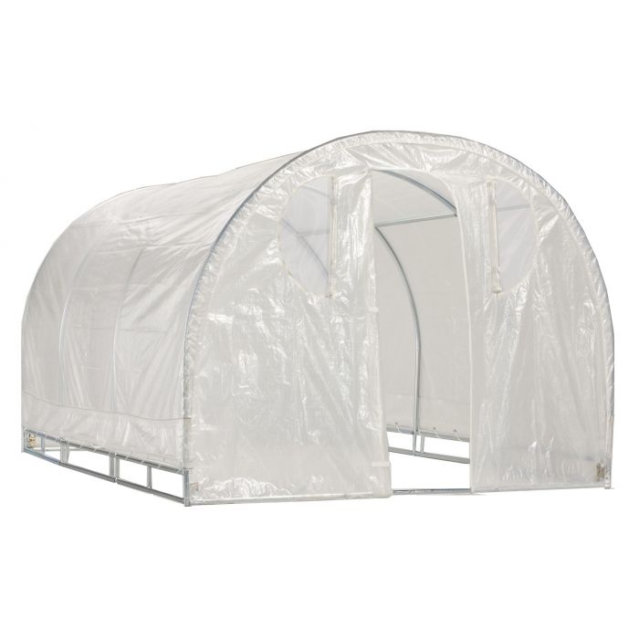 Weatherguard™ Round Top Greenhouse or Cover Set 8' x 12'