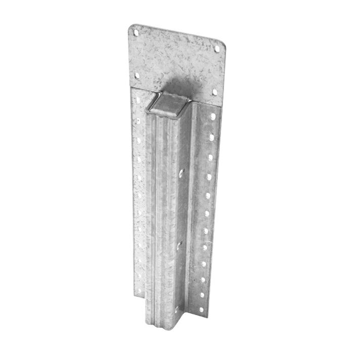 Lifetime Steel Post™ - 8' Galvanized Post with Clear Powdercoat Finish