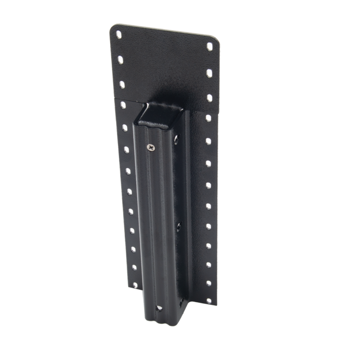 Lifetime Steel Post™ - 24 pallet Black Post with Double Powdercoat Finish