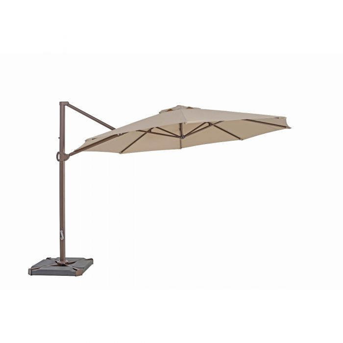 TrueShade Plus 11.5' Cantilever Round Umbrella