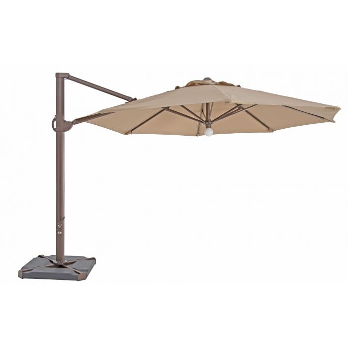 TrueShade Plus 11.5' Cantilever Octagon Umbrella